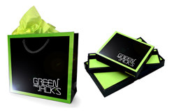 Mens Shirts Green Packaging